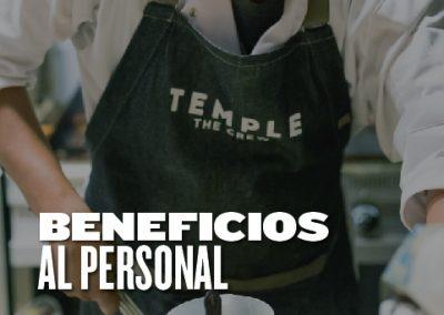 Beneficios al personal
